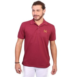 fbe121d50267e Camisa Polo England Polo Club Full Print