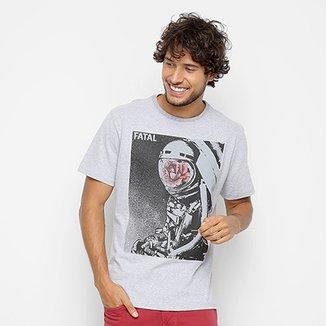 Camiseta Fatal Estampa Astronauta Masculina 108980857e0