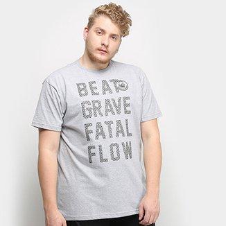 585a8348dcee5 Camiseta Fatal Ft Plus Size Estampada Masculina