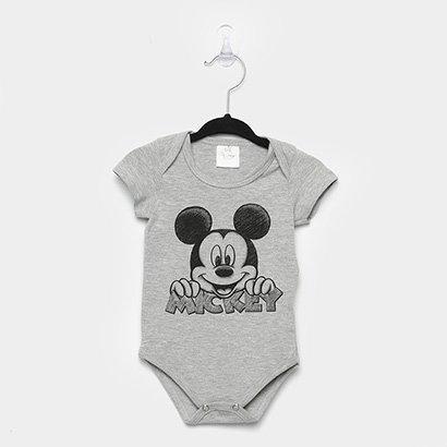 Body Infantil Marlan Mickey Bebê