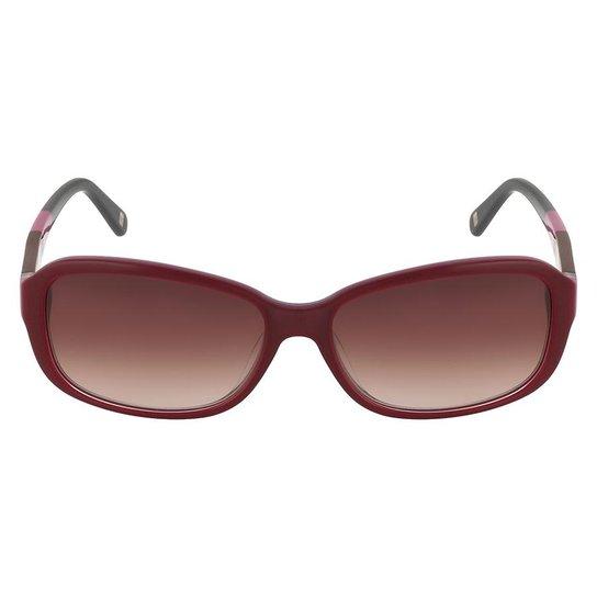 Óculos de Sol Nine West NW544S 600 57 - Bordô - Compre Agora   Netshoes b92678a579