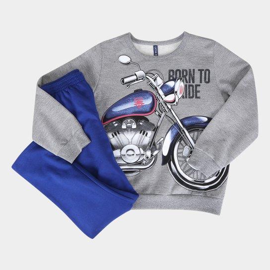 13ebf90d6 Conjunto Infantil Cativa Moletom Moto Masculino - Compre Agora ...