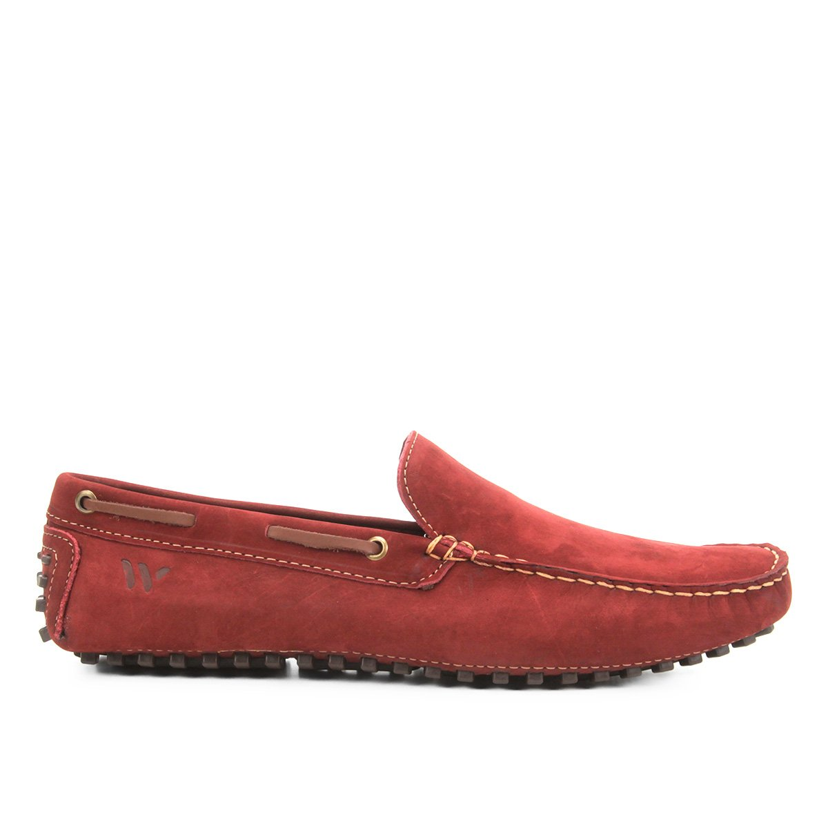 2fcab0c9300 Mocassim Couro Wakalbout Jack Nobuck Masculino