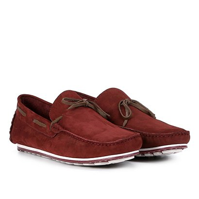 Mocassim Couro Wakalbout George Nobuck Masculino