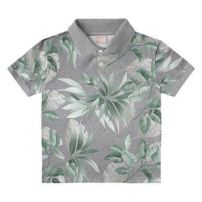 Camisa Polo Infantil Milon Farol Masculina