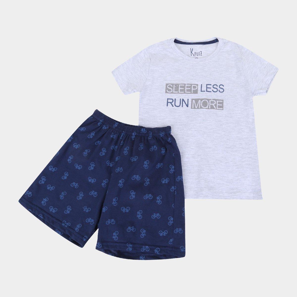 Pijama Infantil Cor Com Amor Estampado Masculino