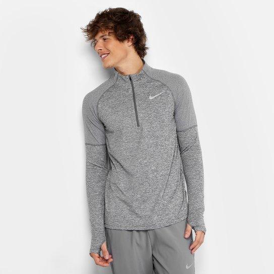 399306f6f Camiseta Nike Element Hz 2.0 Manga Longa Masculina - Mescla - Compre ...
