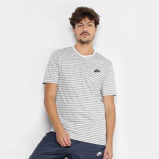 6c02a9e172 Camiseta Nike M NSW Striped LBR 2 Masculina