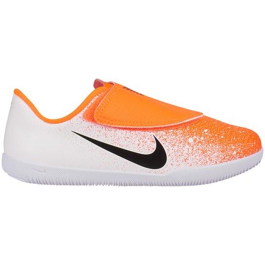 bdbf0bd0fb Chuteira Futsal Infantil Nike Mercurial Vapor 12 Club PS IC - Laranja+Branco