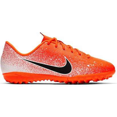 d6ceb1ba6c Chuteira Society Infantil Nike Mercurial Vapor 12 Academy GS TF