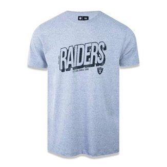 Camiseta Oakland Raiders NFL New Era Masculina 908bbcdfe80c7
