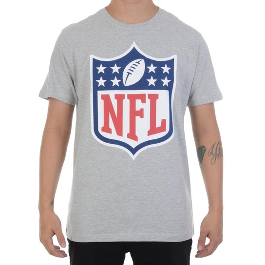Camiseta New Era Logo NFL Masculina - Compre Agora  955ed2c6211