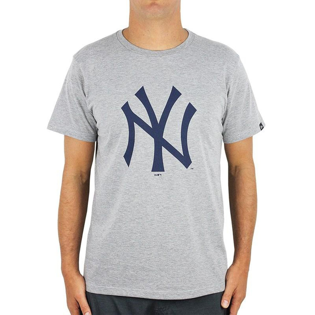 Camiseta MLB New York Yankees New Era Essentials Tri Masculina