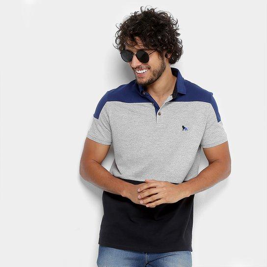 a5a0cea437 Camisa Polo Acostamento Bicolor Masculina - Compre Agora