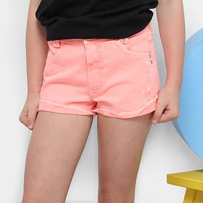 Shorts Infantil Dimy Candy Rasgos Feminino