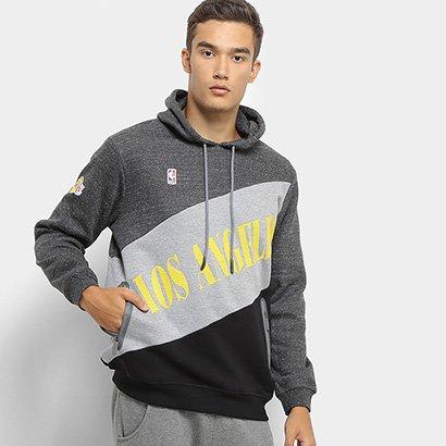 Moletom NBA Los Angeles Lakers Colorblock Masculino