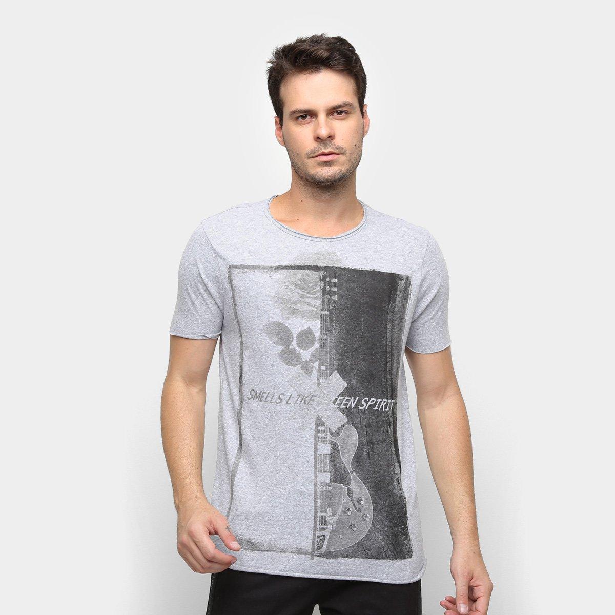 b963eb9ee Camiseta Derek Ho Guitar Rose Masculina