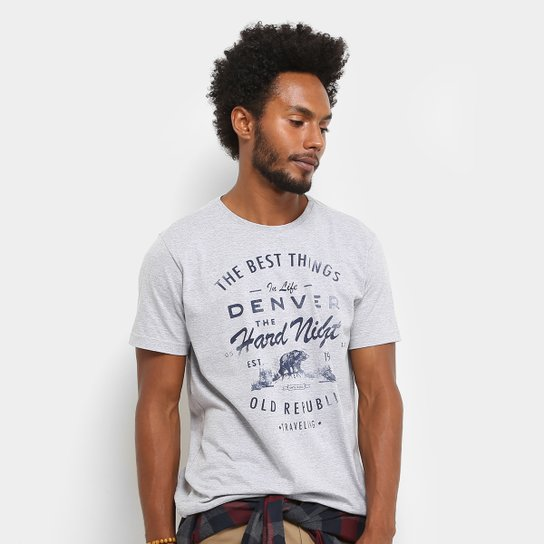 a8482c153b1b2 Camiseta Treebo Hard Night Masculina - Compre Agora