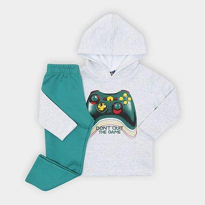 Conjunto Infantil Pipa Gamer Masculino