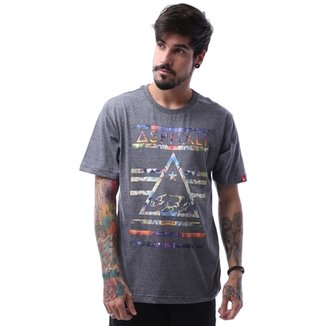 e9fda45e4b Camiseta Asphalt California Bear Delta Masculina