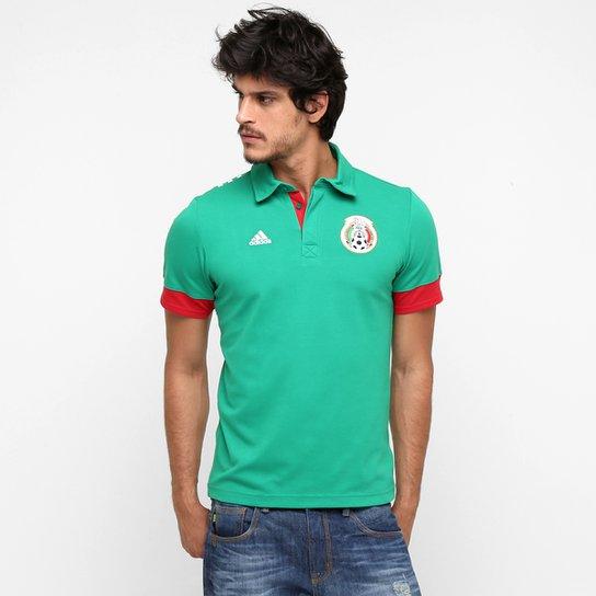 Camisa Polo Adidas Seleção México - Compre Agora  3a97d45f93006