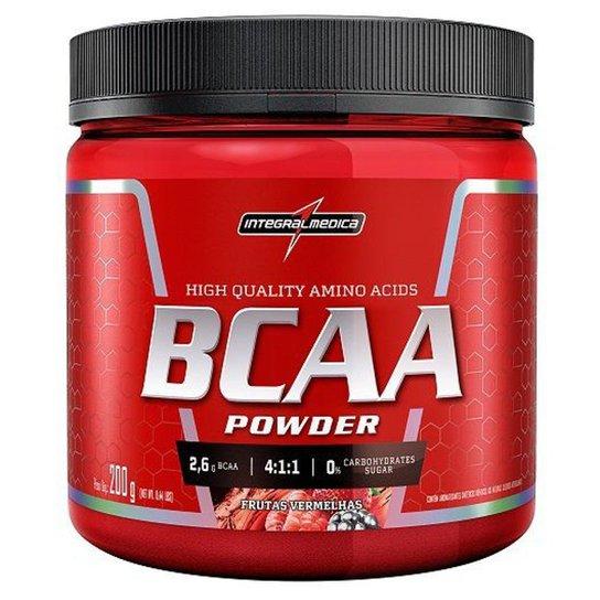 BCAA 200g - IntegralMédica - Frutas Vermelhas - Compre Agora  f35e486d613