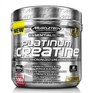 100% Platinum Creatine Muscletech 400g