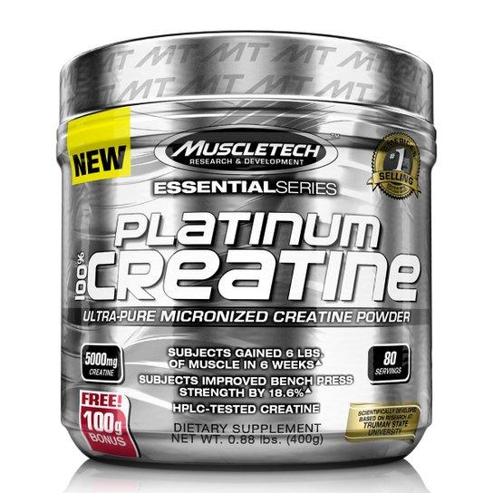 100% Platinum Creatine Muscletech 400g - Sem Sabor - Compre Agora ... 6766fffef04