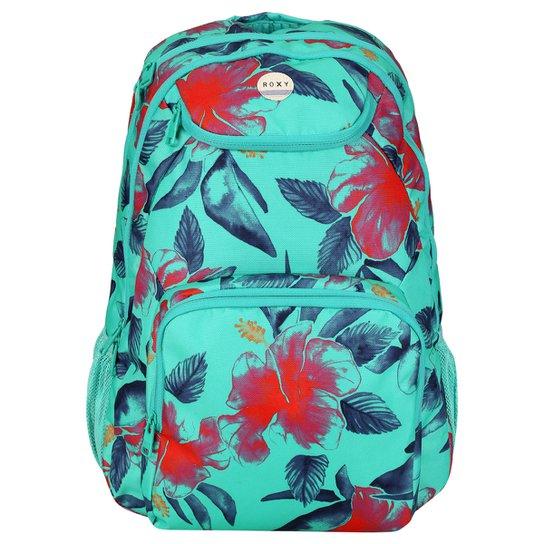Mochila Roxy Shadow Swell Vacation Station - Verde Claro+Vermelho eef2ed17d98