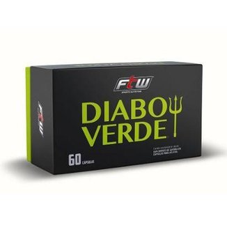 Diabo Verde (Cafeína 420Mg + Green Coffee + Green