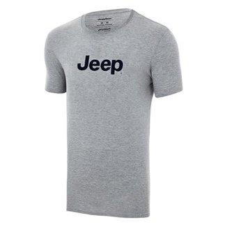 9b1d5fa6169 Camiseta JEEP Logo Homem