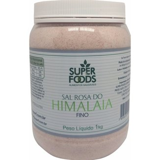 Sal do Himalaia Fino Super Foods 1000g c48be754c8861
