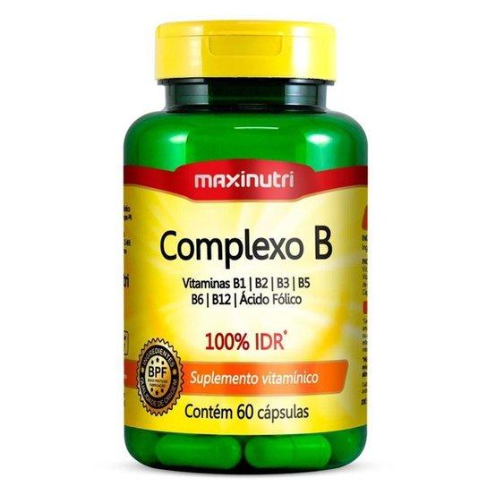 d90c21d3c Complexo B - 60 cápsulas - Maxinutri - Compre Agora