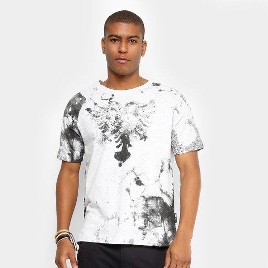 82373347b Camiseta Cavalera Marmorizada Logo Masculina - Compre Agora