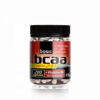 BCAA 2:1:1 500mg - 200 Cápsulas - Pronutrition Basic