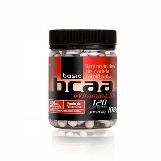 BCAA 800mg + VitB6 - 120 Cápsulas - Pronutrition Basic