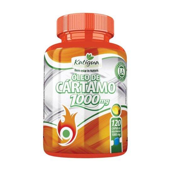 73f037a10 Óleo de Cártamo 1000mg - 120 Cápsulas - Katigua - Sem Sabor - Compre ...
