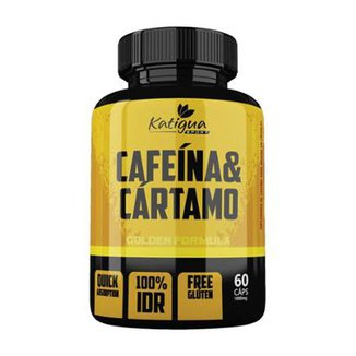 461c4f197 Cafeína e Cártamo - 60 Cápsulas - Katigua Sport