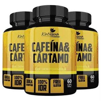 afc8788c7 Cafeína e Cártamo - 3x 60 Cápsulas - Katigua Sport