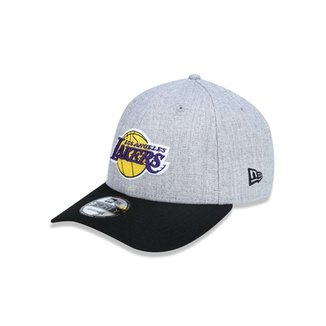 Boné 940 Los Angeles Lakers NBA Aba Curva Snapback New Era 2c427a59a44