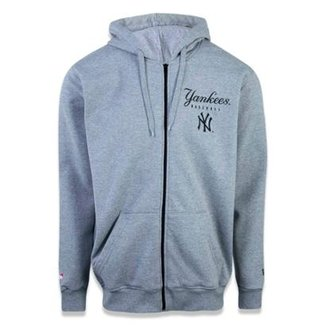 Moletom Canguru Aberto New York Yankees MLB New Era Masculino 6c7c8575f5d
