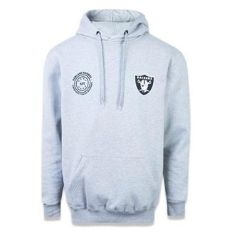 e11771f86f Moletom Canguru Fechado Oakland Raiders NFL New Era Masculina