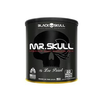 Mr. Skull Black Skull - 22 Packs