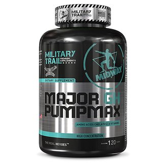 Major GH Pump Max: Precursor de testosterona e GH natural 120 tabs