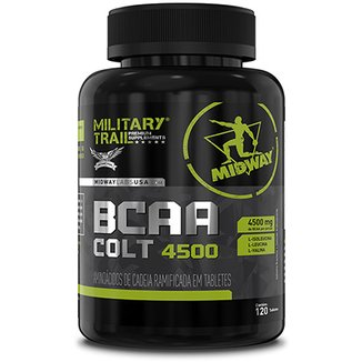 BCAA Colt Ultra Concentrado Military Trail 120 Caps