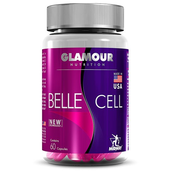 538cc2ddad Multivitamínico Belle Cell Glamour 60 Caps - Sem Sabor