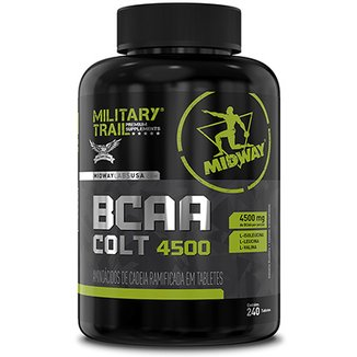 BCAA Colt Ultra Concentrado Military Trail 240 Caps