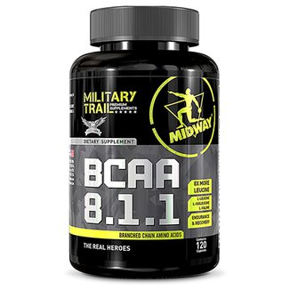 BCAA USA 8.1.1 Military Trail 120 Caps