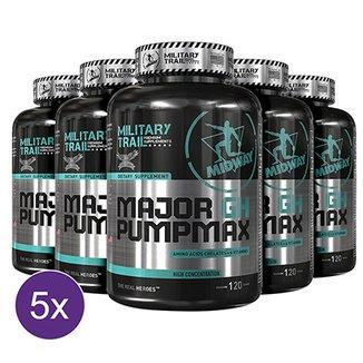 Kit 5x Major GH Pump Max  Precursor de testosterona e GH natural 120 tabs b0fc388a1caa9