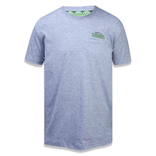 Camiseta Seattle Seahawks NFL New Era Masculina - Compre Agora ... c2bfade7e9e12